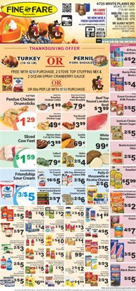 Christmas deals in the Fine Fare weekly ad in New York