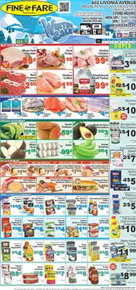 Tide deals in the Fine Fare weekly ad in New York