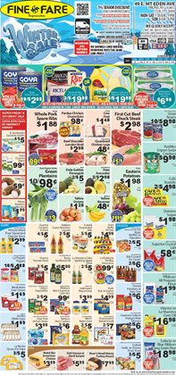 Games deals in the Fine Fare weekly ad in New York