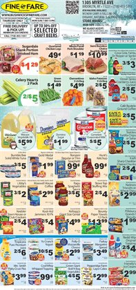 Top deals in the Fine Fare weekly ad in New York