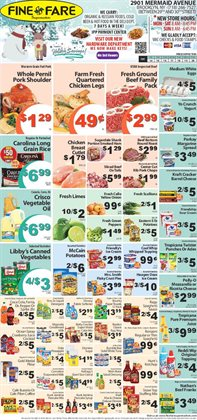 Icecreams deals in the Fine Fare weekly ad in New York