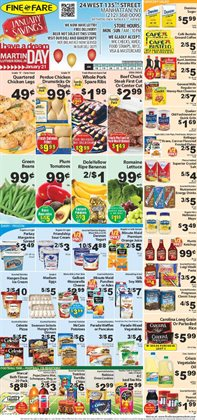 Nabisco deals in the Fine Fare weekly ad in New York