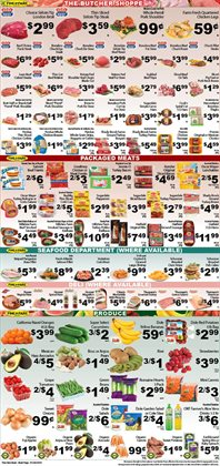Rug deals in the Fine Fare weekly ad in New York