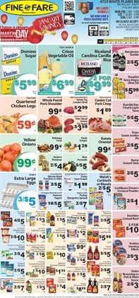Bumble Bee deals in the Fine Fare weekly ad in New York