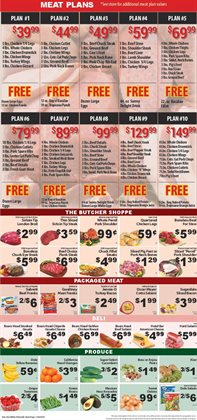 Eggs deals in the Fine Fare weekly ad in New York