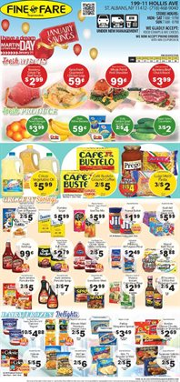 Maps deals in the Fine Fare weekly ad in New York