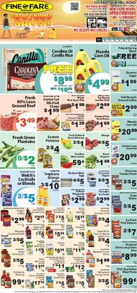Fine Fare deals in the Harlem NY weekly ad