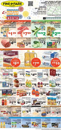 Grocery & Drug deals in the Fine Fare catalog ( Expires today)