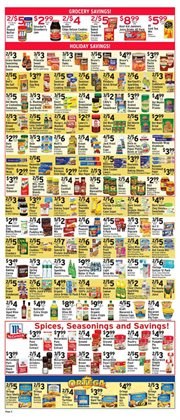 Spices deals in the Met Foodmarkets weekly ad in New York