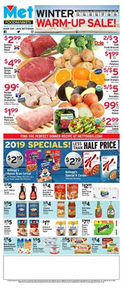 Oranges deals in the Met Foodmarkets weekly ad in New York