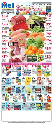 Met Foodmarkets deals in the New York weekly ad