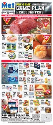 Living room deals in Met Foodmarkets