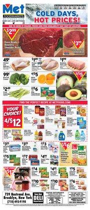 Potatoes deals in Met Foodmarkets