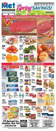 Met Foodmarkets catalogue in New York ( Expired )