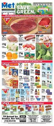 Met Foodmarkets catalogue in New York ( Expires tomorrow )