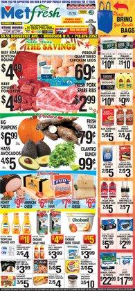 Met Foodmarkets deals in the Met Foodmarkets catalog ( 3 days left)