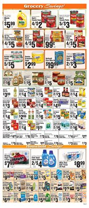 Detergent deals in the Met Foodmarkets weekly ad in New York