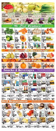 Budweiser deals in the Met Foodmarkets weekly ad in New York