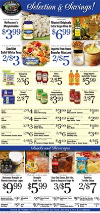 Kraft deals in the Morton Williams weekly ad in New York