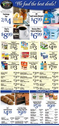 Detergent deals in the Morton Williams weekly ad in New York