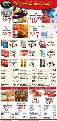 Butter deals in the Morton Williams weekly ad in New York