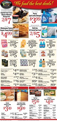 Dishwashing detergent deals in the Morton Williams weekly ad in New York