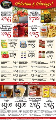 Nabisco deals in the Morton Williams weekly ad in New York