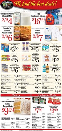 Roses deals in the Morton Williams weekly ad in New York