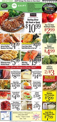 Broccoli deals in the Morton Williams weekly ad in New York