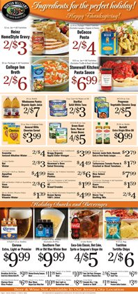 Cheerios deals in the Morton Williams weekly ad in New York