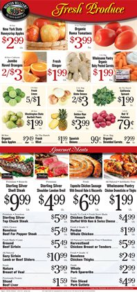 Chicken thighs deals in the Morton Williams weekly ad in New York
