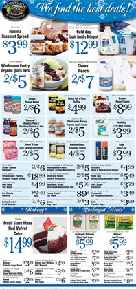 Clorox deals in the Morton Williams weekly ad in New York