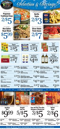 Barilla deals in the Morton Williams weekly ad in New York