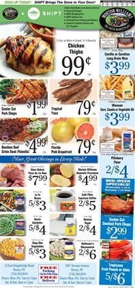 Morton Williams deals in the New York weekly ad