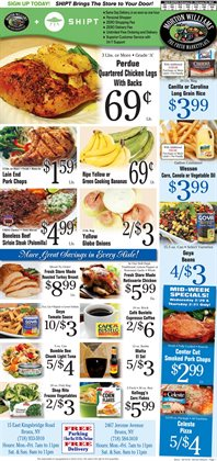 Turkey deals in the Morton Williams weekly ad in New York