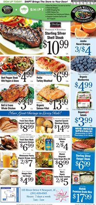 Desserts deals in the Morton Williams weekly ad in New York
