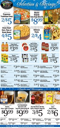 Storage deals in the Morton Williams weekly ad in New York