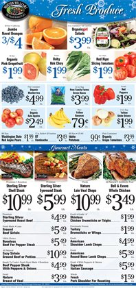 Pork deals in the Morton Williams weekly ad in New York