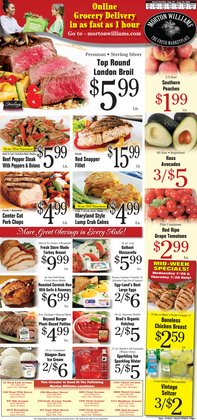 Grocery & Drug deals in the Morton Williams catalog ( 2 days left)
