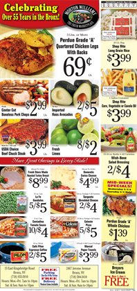 Grocery & Drug deals in the Morton Williams weekly ad in New York