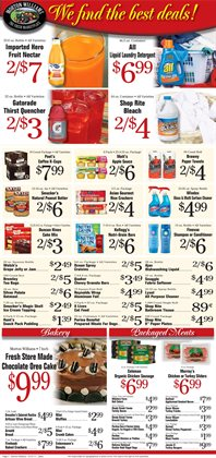 Shampoo deals in the Morton Williams weekly ad in New York