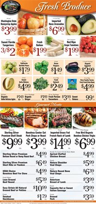 Fruit deals in the Morton Williams weekly ad in New York
