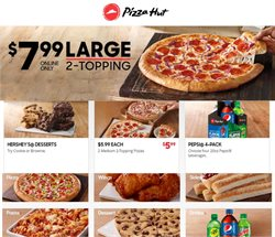 Pizza Hut deals in the Oklahoma City OK weekly ad