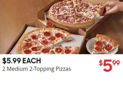 Pizza Hut deals in the Los Angeles CA weekly ad