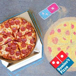 Domino's Pizza deals in the New York weekly ad