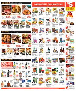 Wine deals in the Raley's weekly ad in San Francisco CA