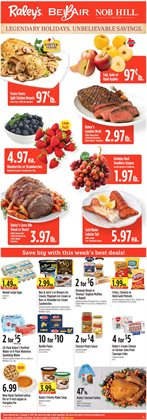 Raley's deals in the Napa CA weekly ad