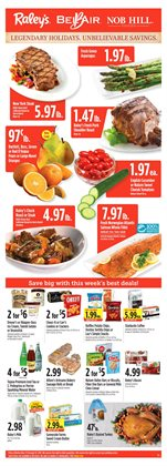 Raley's deals in the Santa Rosa CA weekly ad