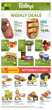 Raley's deals in the Raley's catalog ( 3 days left)