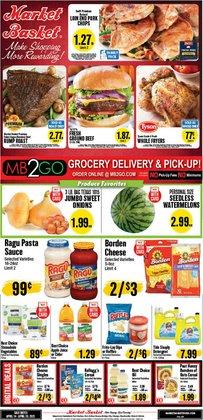 Market Basket catalogue ( 2 days ago )